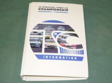 FIA Int. Touring Car Chamapionship 1996 Media Info File